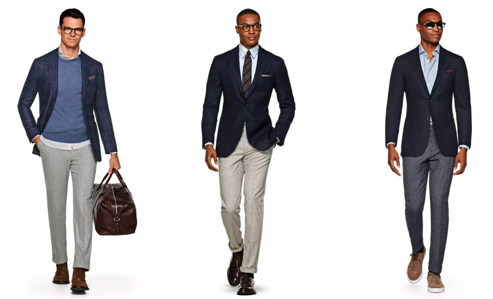 The Interview look for Men