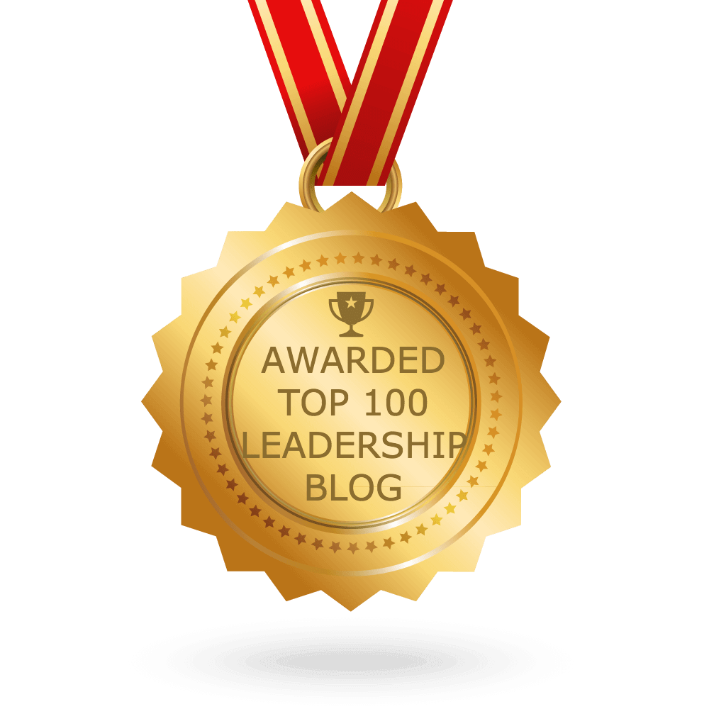 Honoured to be #5 on FeedSpot Top 100 Leadership Blogs